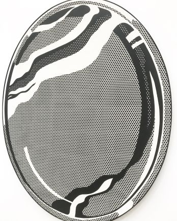 Roy Lichtenstein - Mirror #1