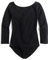 J. Crew Long Sleeve Bodysuit