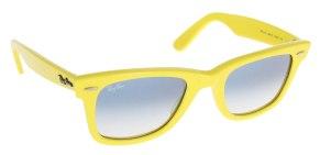 Yellow Ray Ban Wayfarere