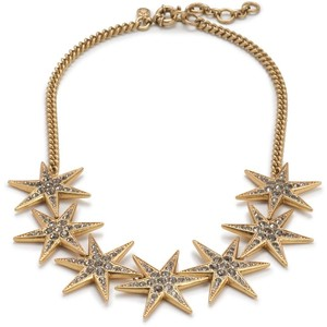 J Crew Star Necklace